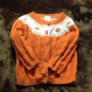 Gymboree pumpkin sweater